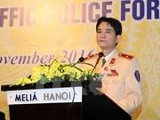 Clausuran primer Foro de Policías de tránsito de ASEAN