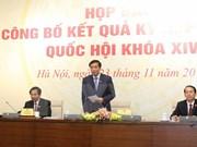 Concluye con éxito segundo período de sesiones del Parlamento de Vietnam