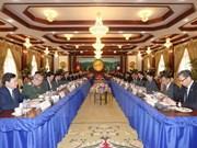 Vietnam y Laos firman siete documentos de cooperación bilateral