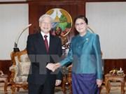 Vietnam atesora relaciones con Laos, afirma líder partidista