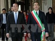 El presidente de Vietnam, Tran Dai Quang, concluyó este jueves su estancia en Italia