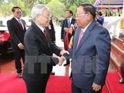 Visita del secretario general del PCV promueve solidaridad especial con Laos, según prensa laosiana