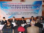 Analizan en Sudcorea situación en Mar del Este después del fallo de PCA