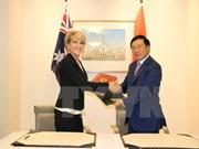 Vietnam continúa siendo uno de los socios clave de Australia, dijo Julie Bishop