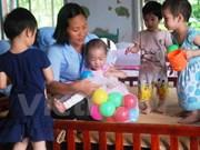 Casi tres millones de discapacitados reciben asistencia cada mes en Vietnam
