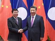 China aspira reforzar relaciones de asociación con Laos