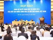 Vietnam publica Decisión de Amnistía 2016