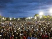 En Santiago de Cuba acto en memoria de Fidel Castro