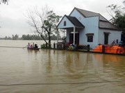 Trece muertos por inundaciones y fuertes lluvias en región central de Vietnam