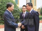 Vietnam y Myanmar forjan cooperación en seguridad