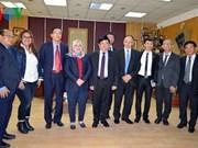 Radioemisoras de Vietnam y Egipto fortalecen cooperación
