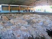 Plan integral para preservar reliquia especial nacional Oc Eo-Ba The