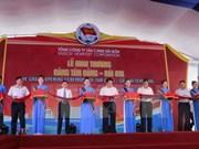 Inauguran puerto marítimo en ciudad sureña de Can Tho
