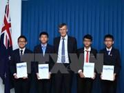 Alumnos vietnamitas logran buenos resultados en concursos de matemática de Australia
