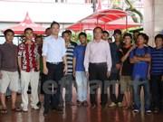 Más pescadores vietnamitas regresan a casa desde Indonesia