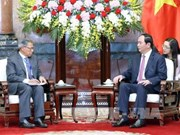 Presidente vietnamita urge aumentar intercambio comercial con Malasia