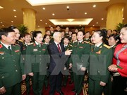 Líder de PCV resalta aportes de mujeres militares al desarrollo nacional