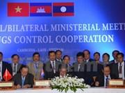 Vietnam, Laos y Camboya fortalecen cooperación antidroga
