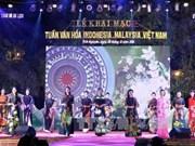 Inauguran Semana de Cultura Malasia- Indonesia- Vietnam