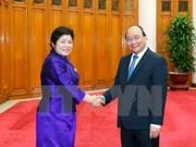 Vietnam dispuesto a compartir experiencias de desarrollo con Laos