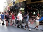 Arriban más de cuatro millones de turistas extranjeros a Hanoi este año