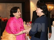 Continúan actividades en India de presidenta del Parlamento de Vietnam