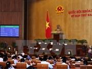 Anuncian tres leyes recién aprobadas por Asamblea Nacional de Vietnam