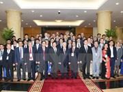 Líder partidista elogia recomendaciones de científicos sobre el desarrollo nacional