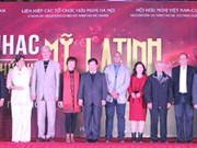 Organizan octava Velada de Música latinoamericana en capital vietnamita