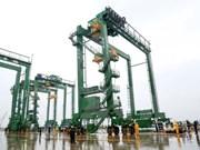 Doosan Vina exporta grúas de contenedores a Arabia Saudita