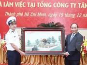 Premier urge a grupo militar cumplir con tareas de defensa nacional y desarrollo eco