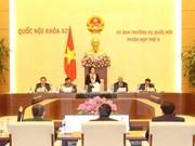Inauguran quinta sesión del Comité Permanente del Parlamento vietnamita
