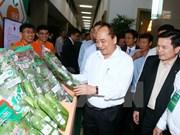 Premier: Vietnam debe convertirse en una potencia en agricultura