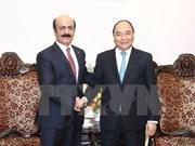 Premier vietnamita recibe al nuevo embajador de Qatar