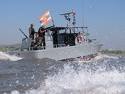 Cuatro países ribereños del Mekong realizan patrullajes conjuntos