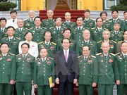 Presidente resalta aportes de la Dirección de Operaciones del Ejército de Vietnam