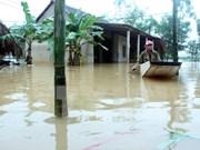 Premier vietnamita pide apoyo urgente a pobladores afectados por inundaciones