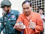Corte de Apelaciones de Camboya mantiene sentencia contra opositor Um Sam An
