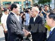 Presidente vietnamita felicita a comunidad católica y protestante por Navidad