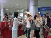Ciudad Ho Chi Minh recibe a su cinco millonésimo turista extranjero de 2016