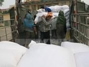 Asistencia urgente de dos mil toneladas de arroz a Binh Dinh