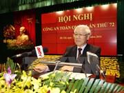 Líder partidista vietnamita elogia labores de seguridad pública