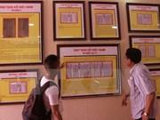 Publican libros sobre soberanía marítima e insular de Vietnam