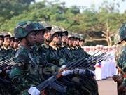 Líder laosiano exhorta por modernización del ejército