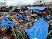 Al menos tres muertos en Filipinas tras paso de tifón Nock-Ten