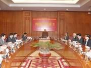 Líder partidista pide mayores esfuerzos en lucha contra corrupción