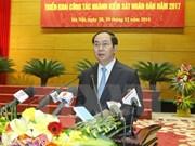 Presidente insta al sector de fiscalía a mejorar desempeño en labores anticrímenes