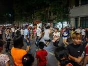 Más de 200 mil turistas celebran el Año Nuevo en Hanoi