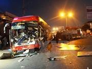 Reportan 93 accidentes del tránsito en Vietnam en días festivos del Año Nuevo