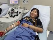 Realizarán eventos de donación de sangre en Vietnam